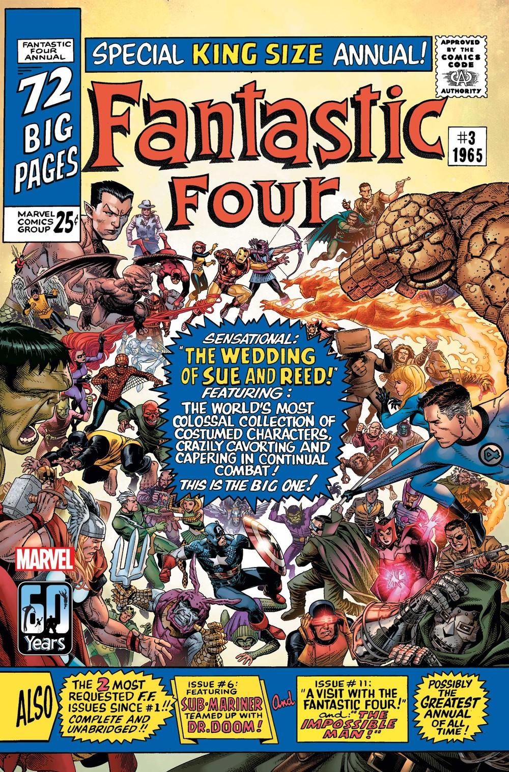 FFANNIVERSARY2021001_Cheung_var Marvel Comics November 2021 Solicitations