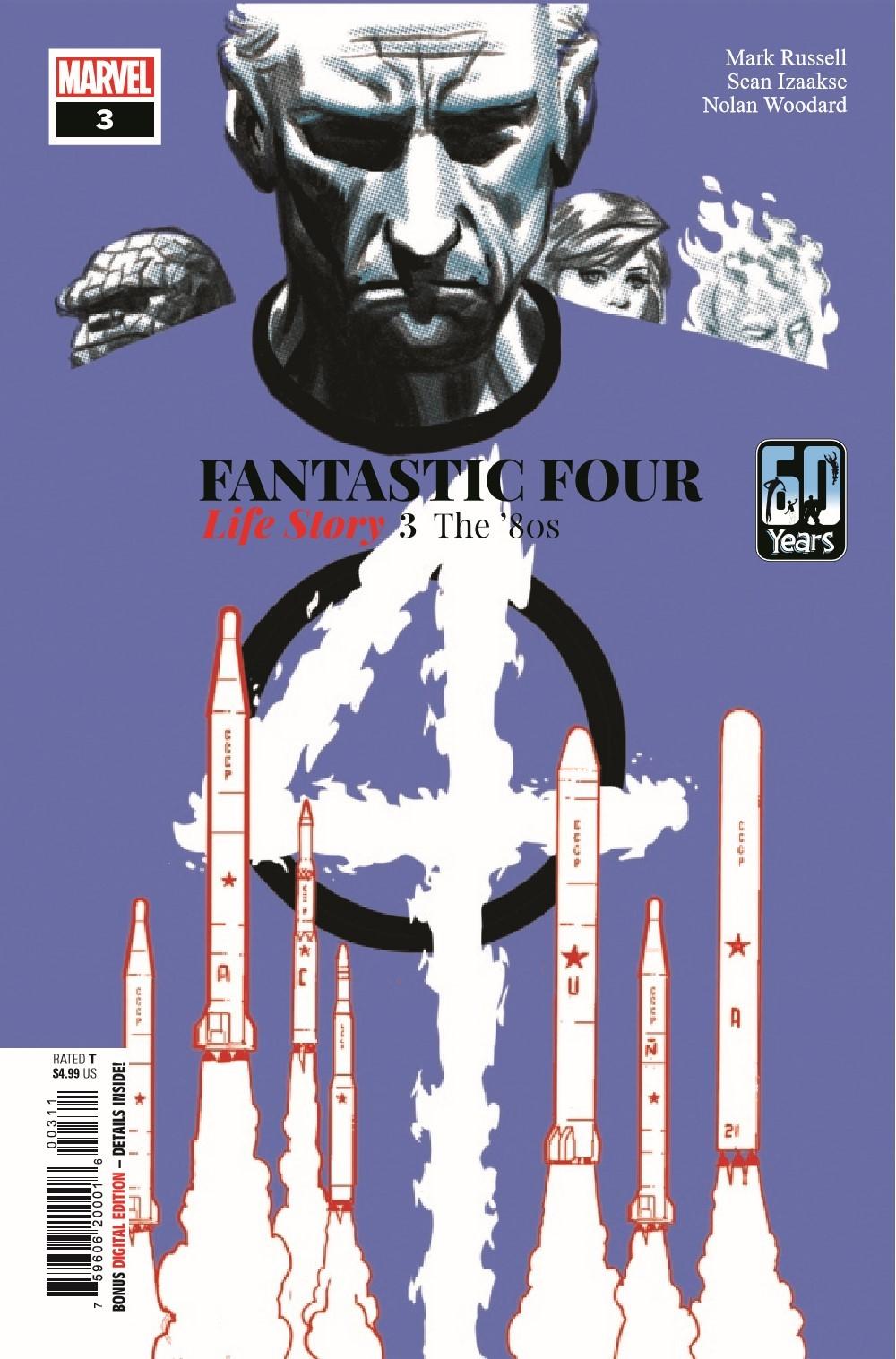 FFLIFESTORY2019003_Preview-1 ComicList Previews: FANTASTIC FOUR LIFE STORY #3 (OF 6)