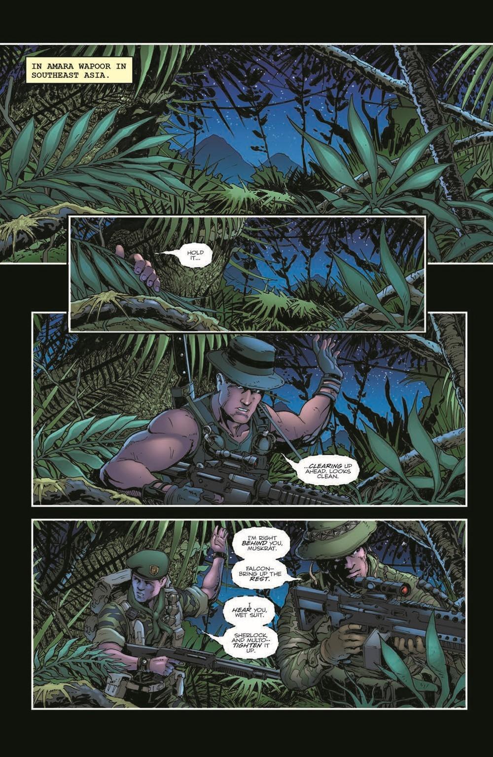 GIJoeRAH285-pr-3 ComicList Previews: G.I. JOE A REAL AMERICAN HERO #285