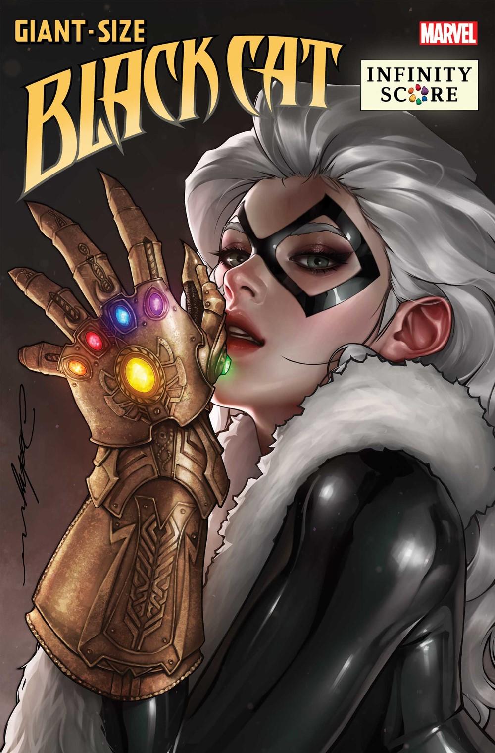 GSBLACKCATIS2021001_Lee-var Marvel Comics November 2021 Solicitations