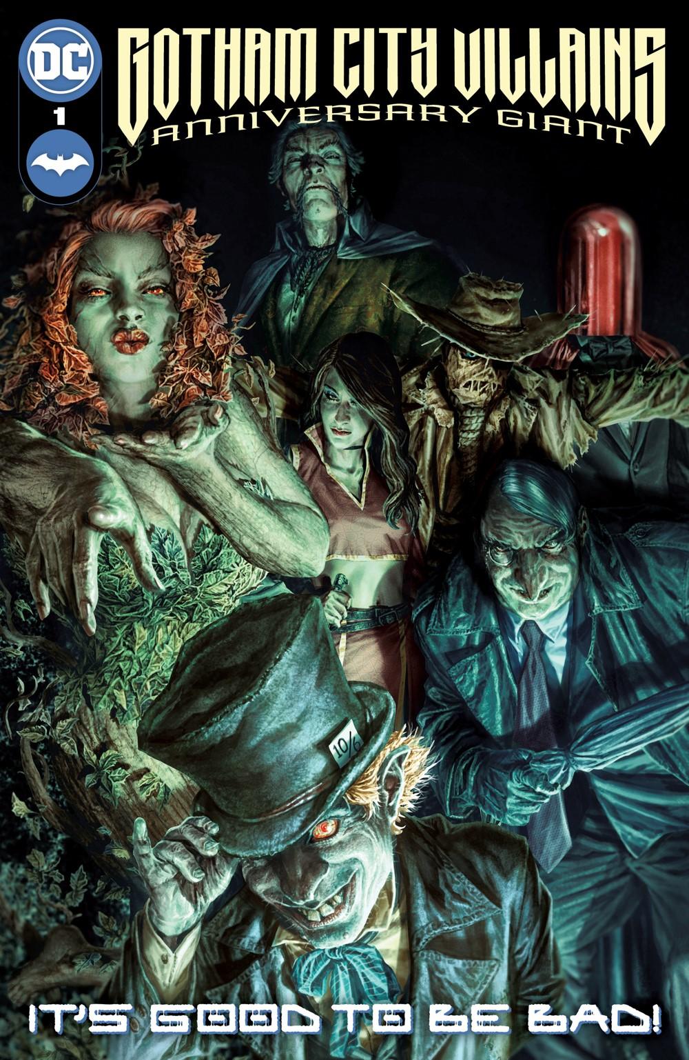 Gotham-City-Villains-Giant-Cv1 DC Comics November 2021 Solicitations