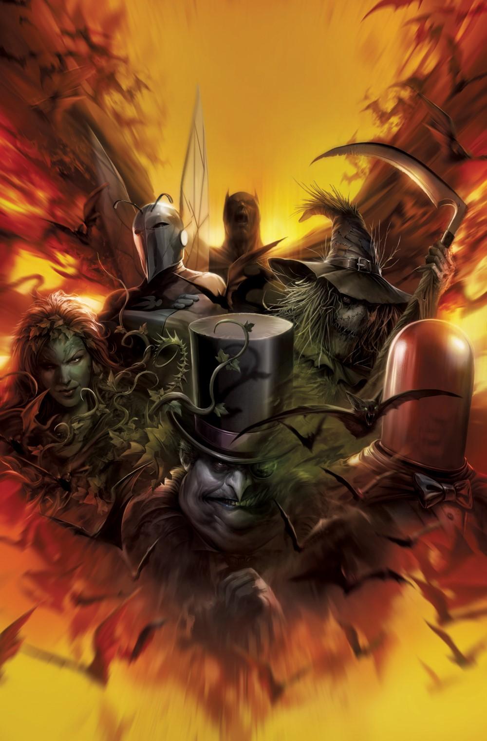 Gotham-Villains-MATTINA-RATIO-VARIANT DC Comics November 2021 Solicitations