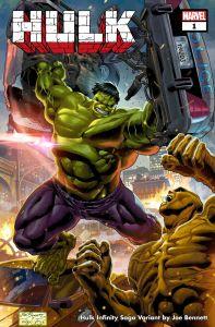 Hulk1_InfinitySaga_Variant-197x300 INFINITY SAGA PHASE 1 VARIANT COVERS will honor the MCU
