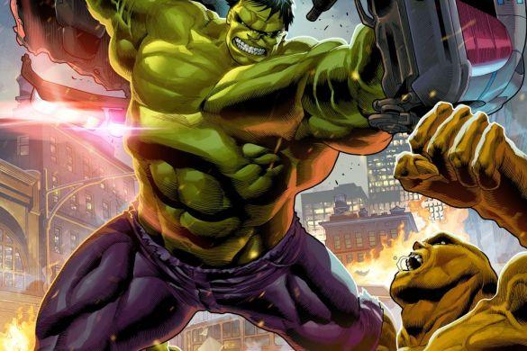 Hulk1_InfinitySaga_Variant INFINITY SAGA PHASE 1 VARIANT COVERS will honor the MCU