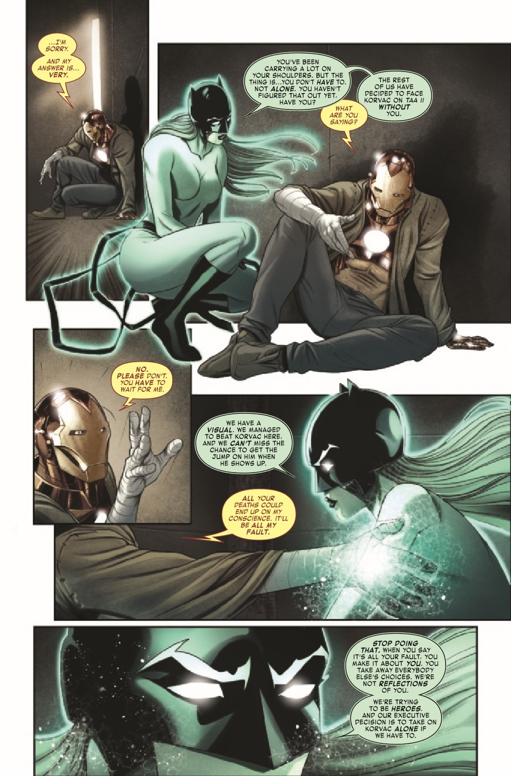 IM2020011_Preview-4 ComicList Previews: IRON MAN #11