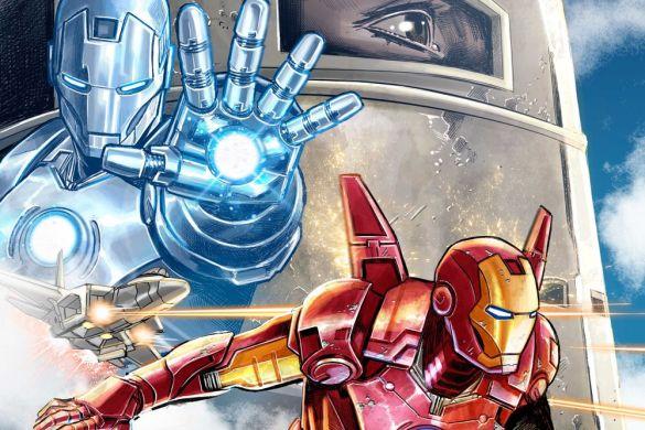 IronMan14__InfinitySaga_Variant INFINITY SAGA PHASE 1 VARIANT COVERS will honor the MCU