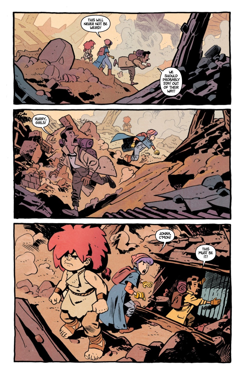 JONNA-5-REFERENCE-06 ComicList Previews: JONNA AND THE UNPOSSIBLE MONSTERS #5