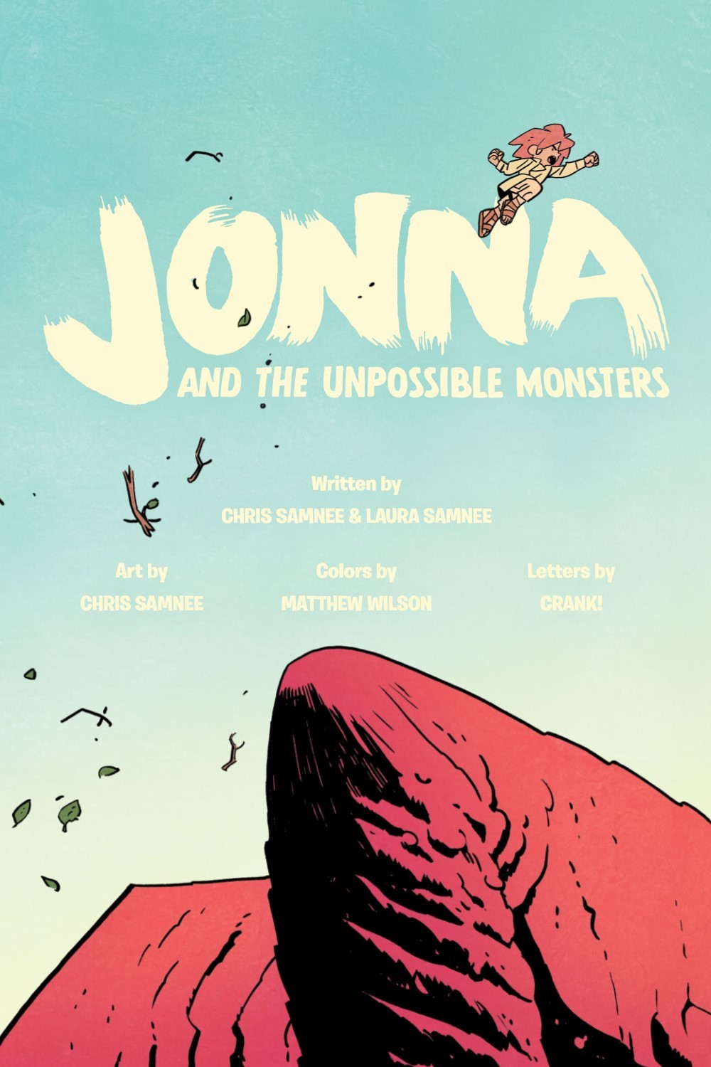JONNA-V1-REFERENCE-003 ComicList Previews: JONNA AND THE UNPOSSIBLE MONSTER VOLUME 1 TP