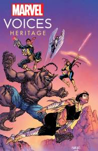 MARVOICESHERITAGE2021001-195x300 Indigenous and First Nations to be spotlighted in MARVEL'S VOICES: HERITAGE #1