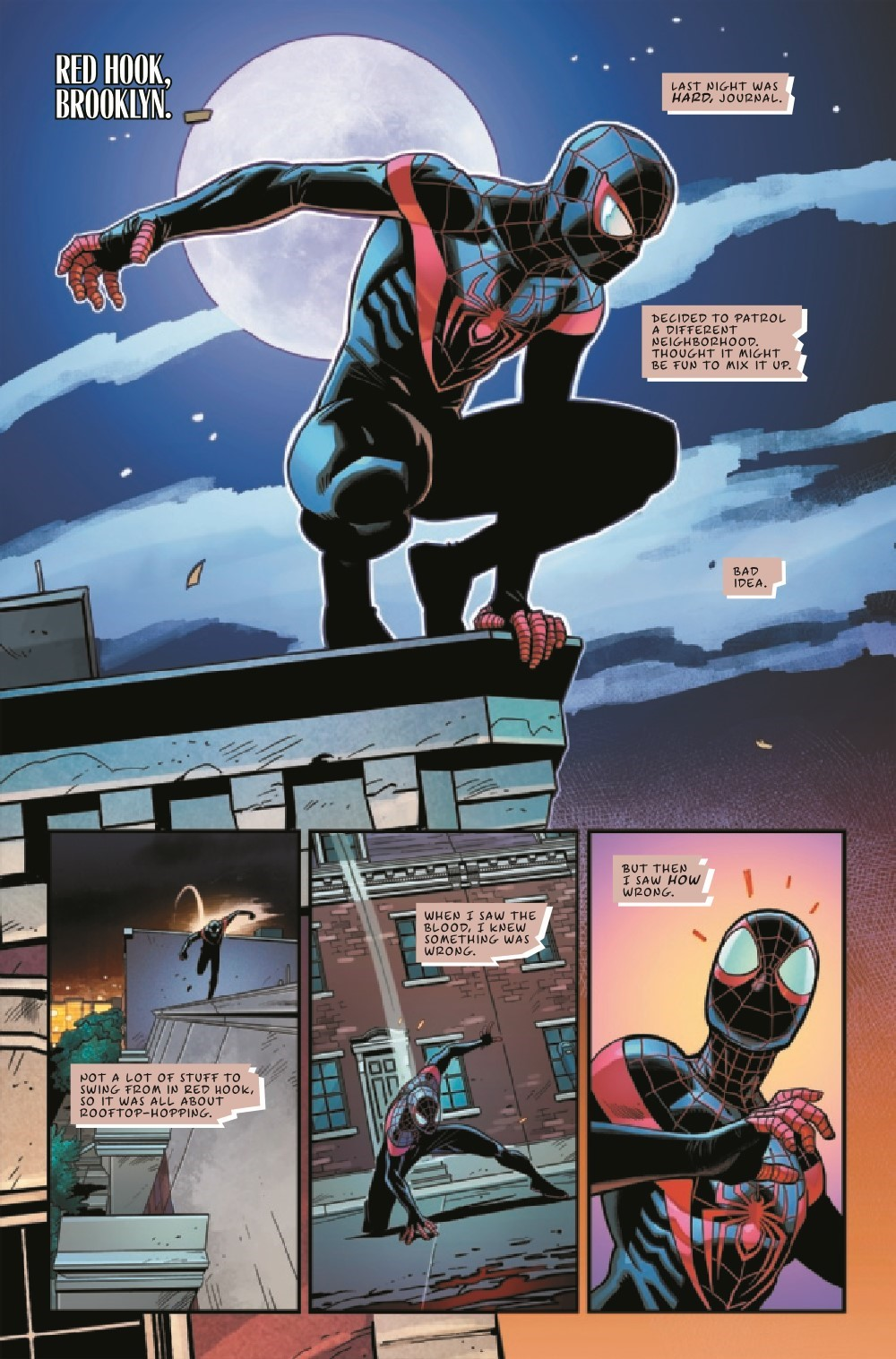 MMSMANN2021001_Preview-4 ComicList Previews: MILES MORALES SPIDER-MAN ANNUAL #1
