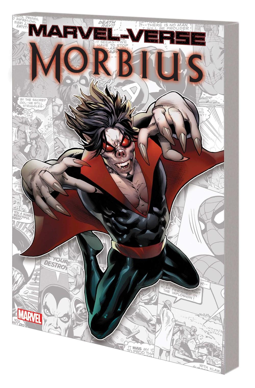 MV_MORBIUS_GN_TPB Marvel Comics November 2021 Solicitations
