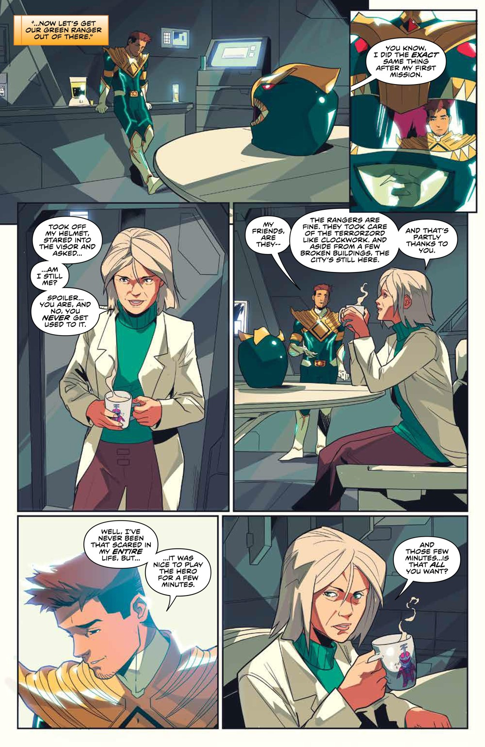 MightyMorphin_v2_SC_PRESS_13 ComicList Previews: MIGHTY MORPHIN VOLUME 2 TP