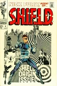 Nick-Fury-4-Cover-by-Steranko-197x300 Jim Steranko Original Art: Rare Auction for Comic Legend