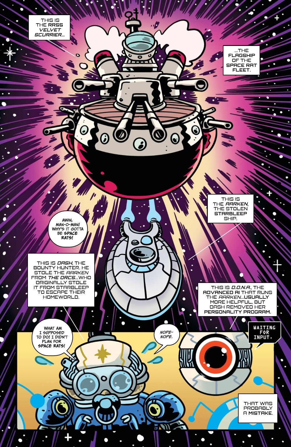 ORCSINSPACE-3-REFERENCE-04 ComicList Previews: ORCS IN SPACE #3