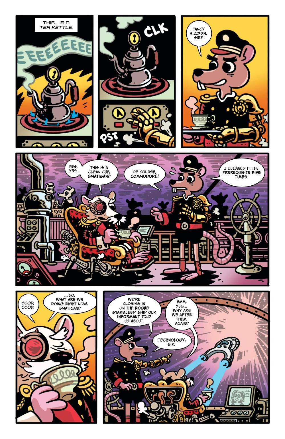 ORCSINSPACE-3-REFERENCE-05 ComicList Previews: ORCS IN SPACE #3