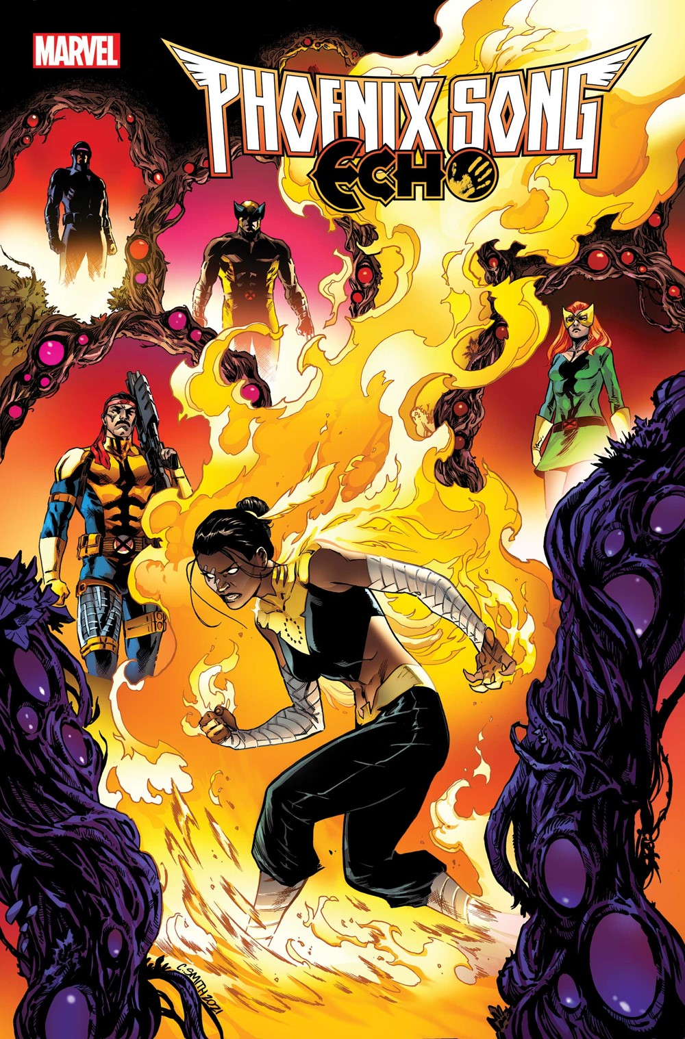 PHXSONGECHO20210002_cvr Marvel Comics November 2021 Solicitations