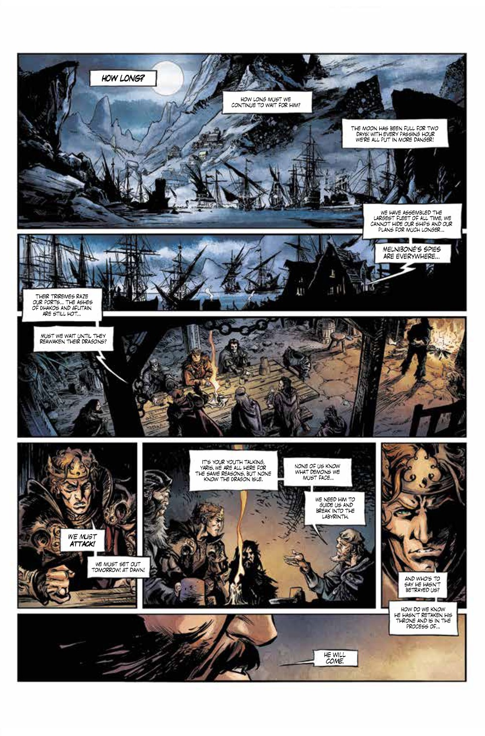 Pages-from-Elric1_complete_Page_1 ComicList Previews: ELRIC THE DREAMING CITY #1