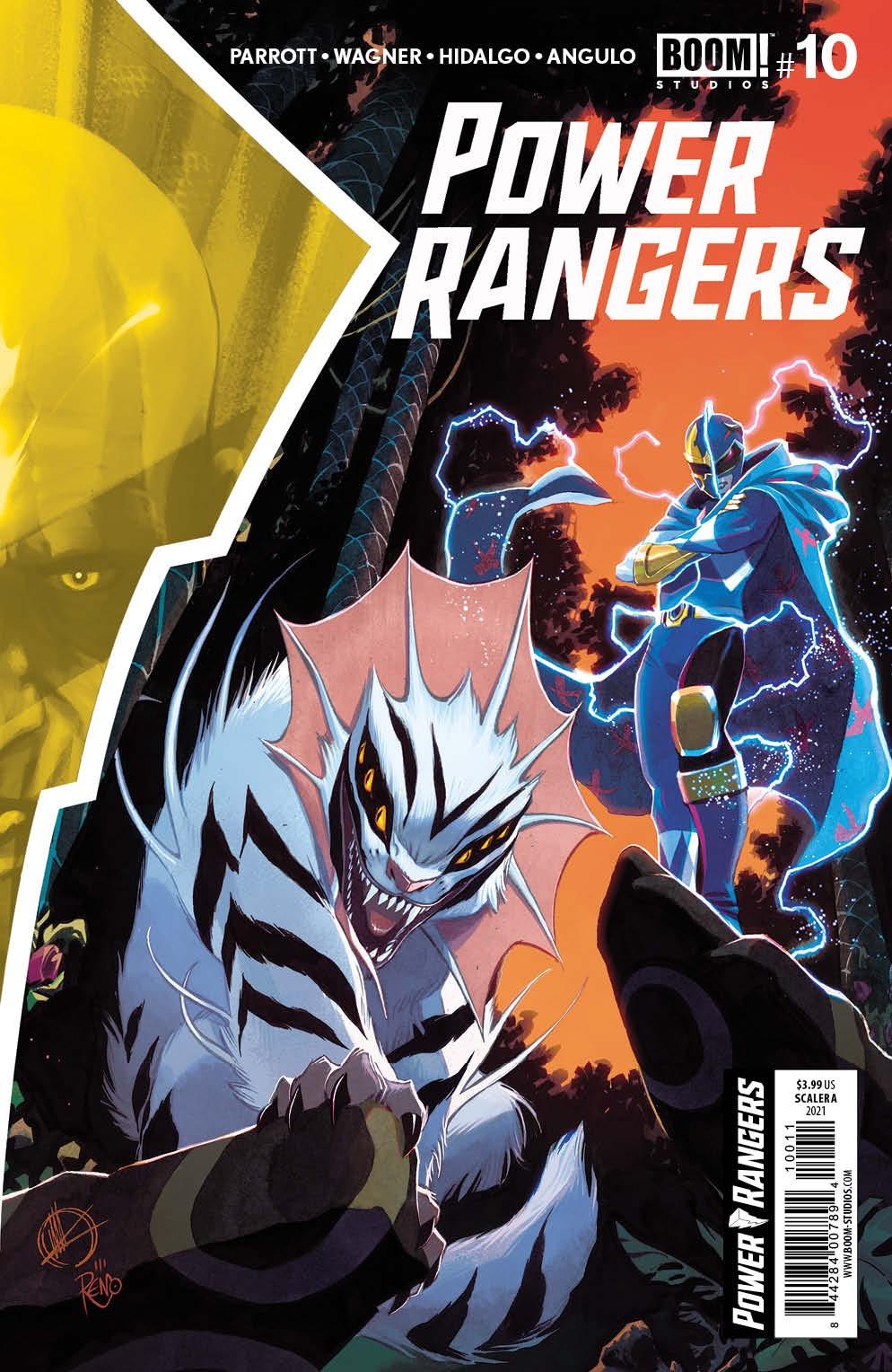 PowerRangers_010_Cover_A_Main ComicList Previews: POWER RANGERS #10