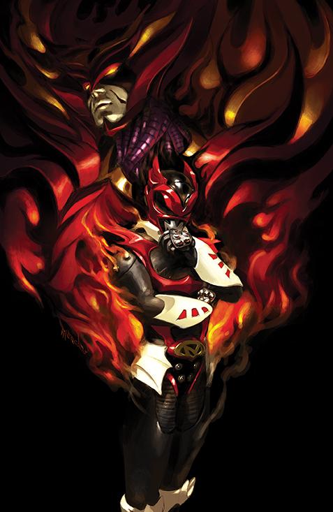 PowerRangers_Universe_001_Cover_C_DarkRanger BOOM! Studios November 2021 Solicitations