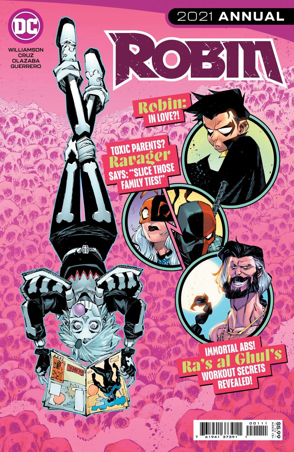 ROBIN-2021-ANN-Cv1 DC Comics November 2021 Solicitations