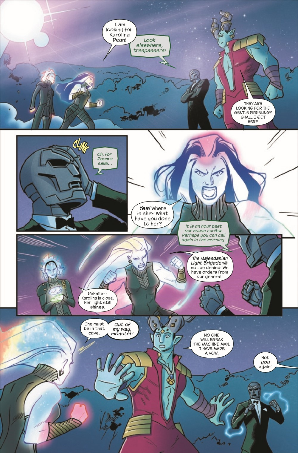RUNAWY2017038_Preview-5 ComicList Previews: RUNAWAYS #38