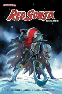 RedSonja2021-01-01011-A-Andolfo-198x300 Mirka Andolfo's RED SONJA #1 sells out at distributor level
