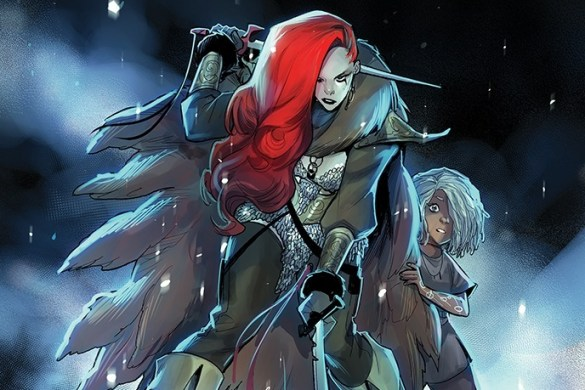 RedSonja2021-01-01011-A-Andolfo Mirka Andolfo's RED SONJA #1 sells out at distributor level