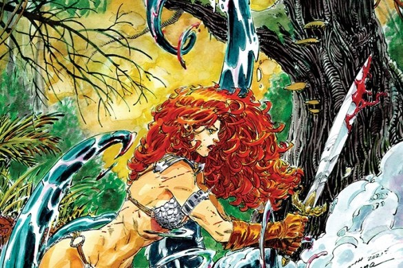 RedSonja2021-01-01071-G-incen10-Booth Mirka Andolfo's RED SONJA #1 sells out at distributor level