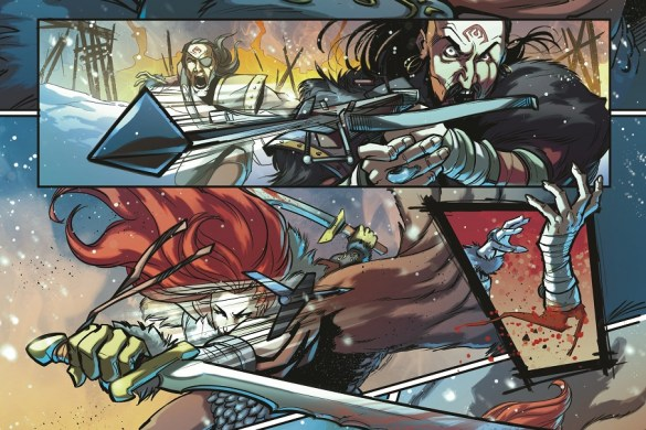 RedSonja_Madre__1_006_inks Mirka Andolfo's RED SONJA #1 sells out at distributor level