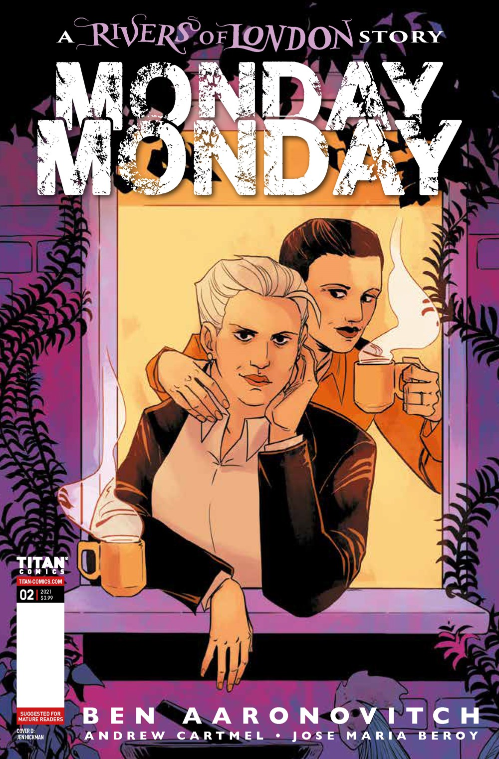 RoL_MM_2_COVERS_D ComicList Previews: MONDAY MONDAY RIVERS OF LONDON #2