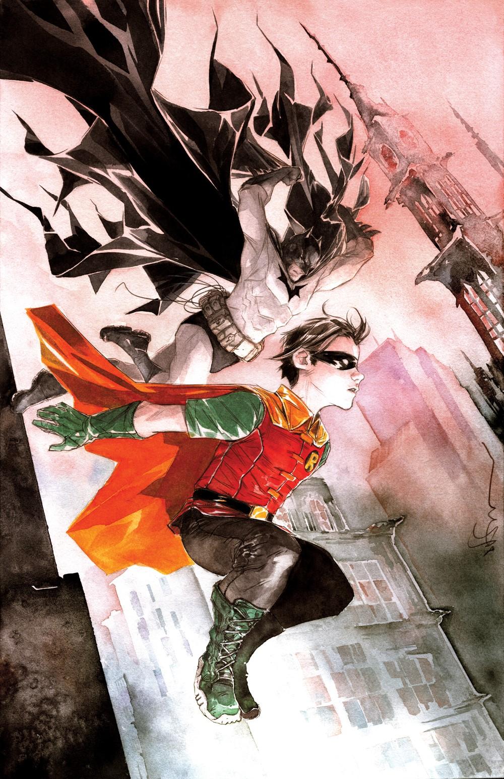 Robin-and-Batman-Cv1 DC Comics November 2021 Solicitations
