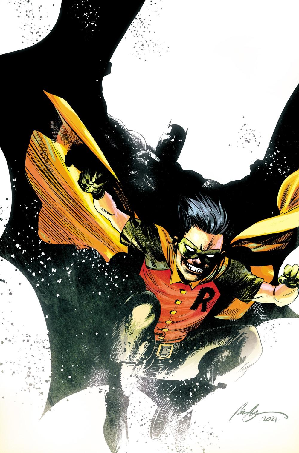 Robin_Batman1_Ratio_Variant_Colors DC Comics November 2021 Solicitations