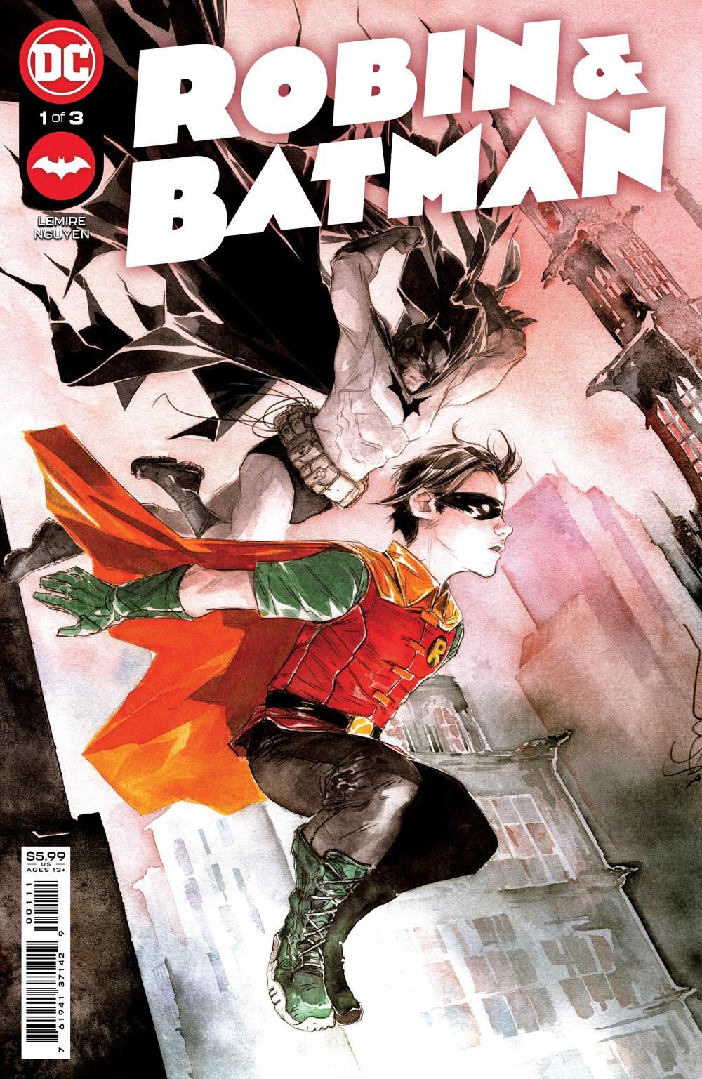 Robin_and_Batman_Cv1 DC Comics November 2021 Solicitations