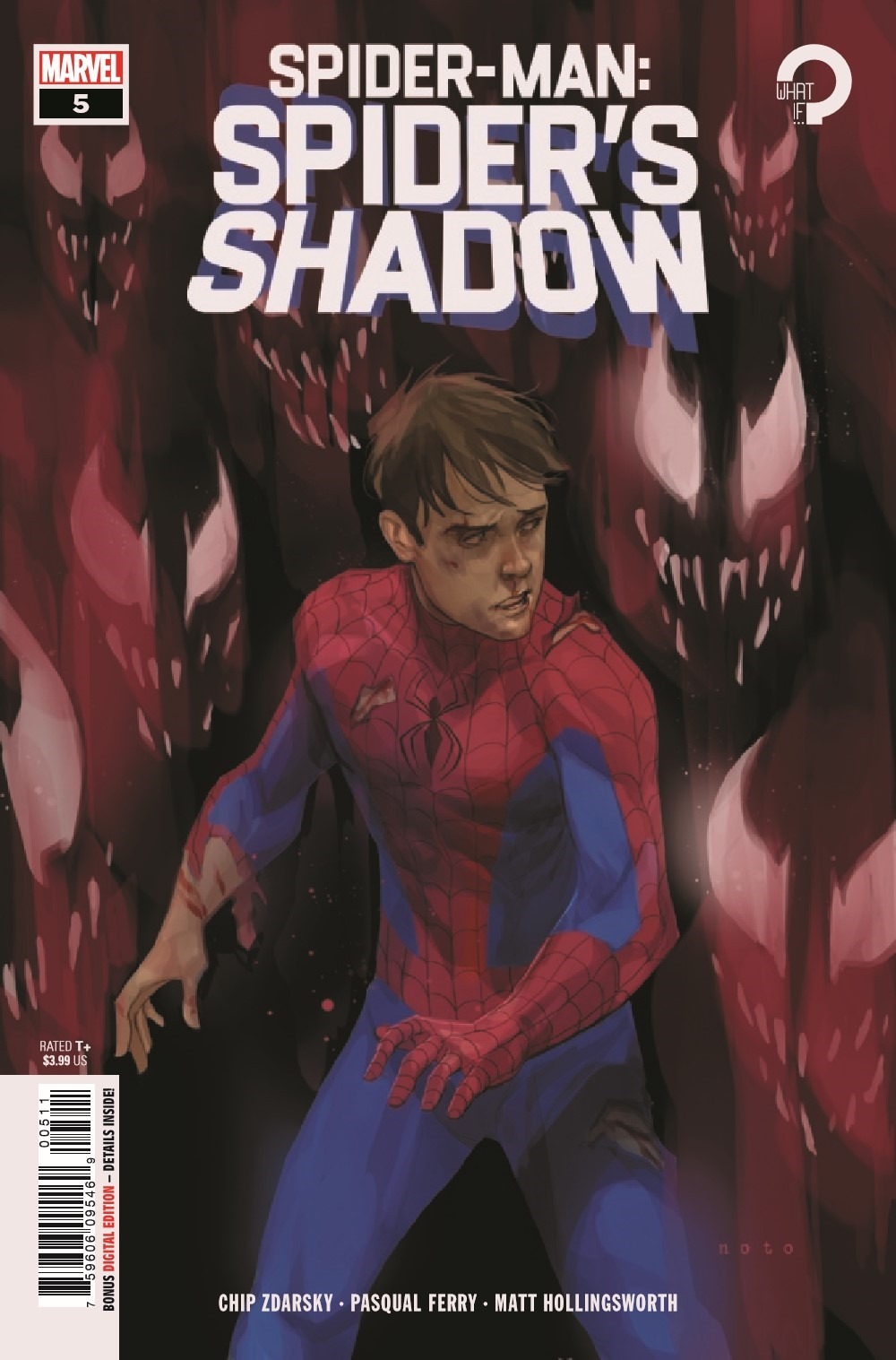 SMSPIDERSHADOW2021005_Preview-1 ComicList Previews: SPIDER-MAN SPIDER'S SHADOW #5 (OF 5)