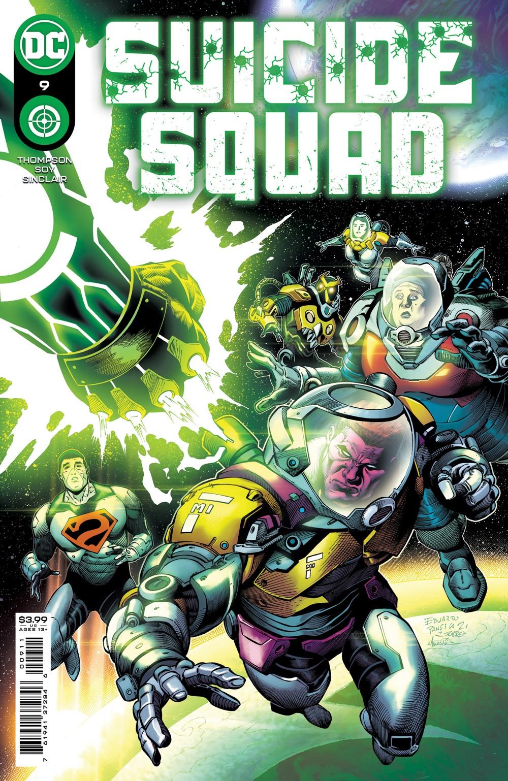 SSQUAD_Cv9 DC Comics November 2021 Solicitations