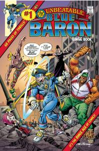 """STL200086-197x300 The Heroes Union universe continues in THE BLUE BARON """"EVERYTHING OLD IS NEW AGAIN!"""""""