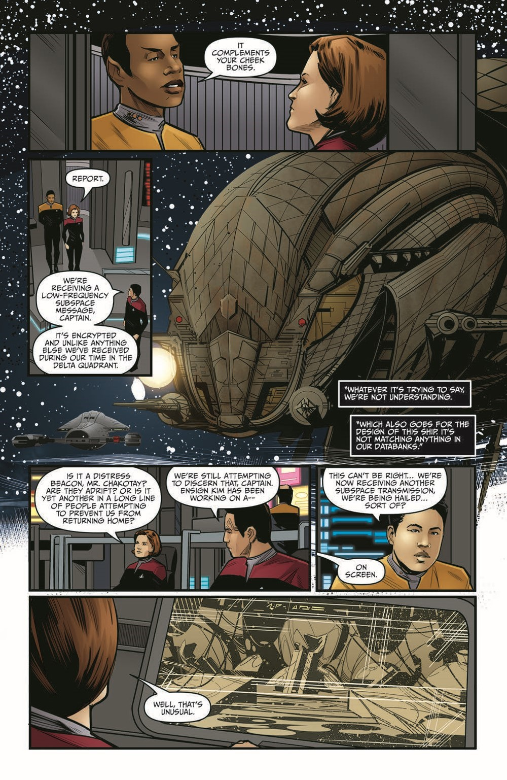 STV_SevensRekoning_TPB_pr-8 ComicList Previews: STAR TREK VOYAGER SEVEN'S RECKONING TP