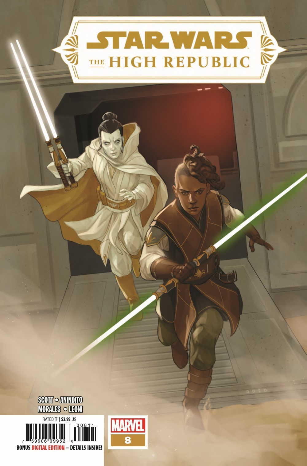 STWHIGHREP2021008_Preview-1 ComicList Previews: STAR WARS THE HIGH REPUBLIC #8