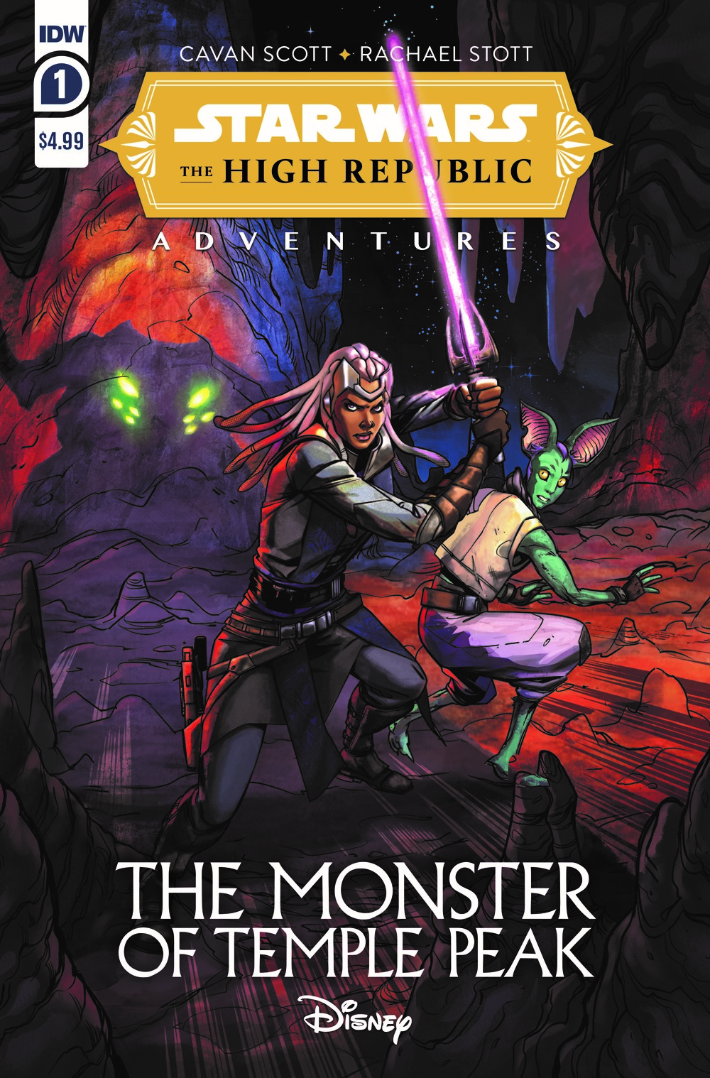 SWA_HighRepub_MTP_01_CvrA ComicList Previews: STAR WARS THE HIGH REPUBLIC ADVENTURES THE MONSTER OF TEMPLE PEAK #1 (OF 4)
