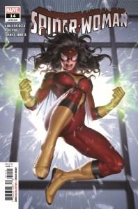 SWOMAN2020014_Preview-1-198x300 ComicList Previews: SPIDER-WOMAN #14
