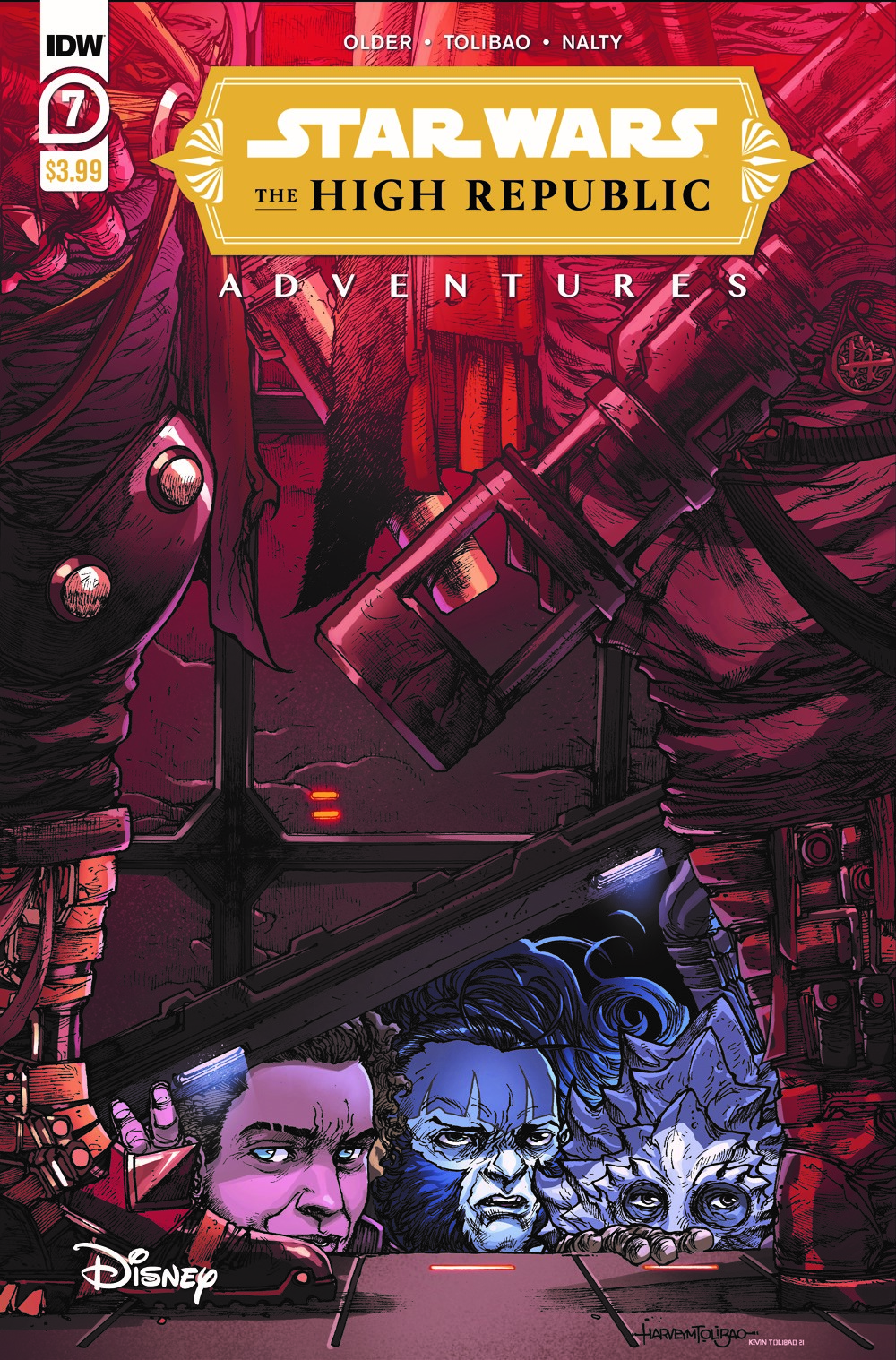 StarWarsHighRepublic-07-A ComicList: IDW Publishing New Releases for 08/18/2021