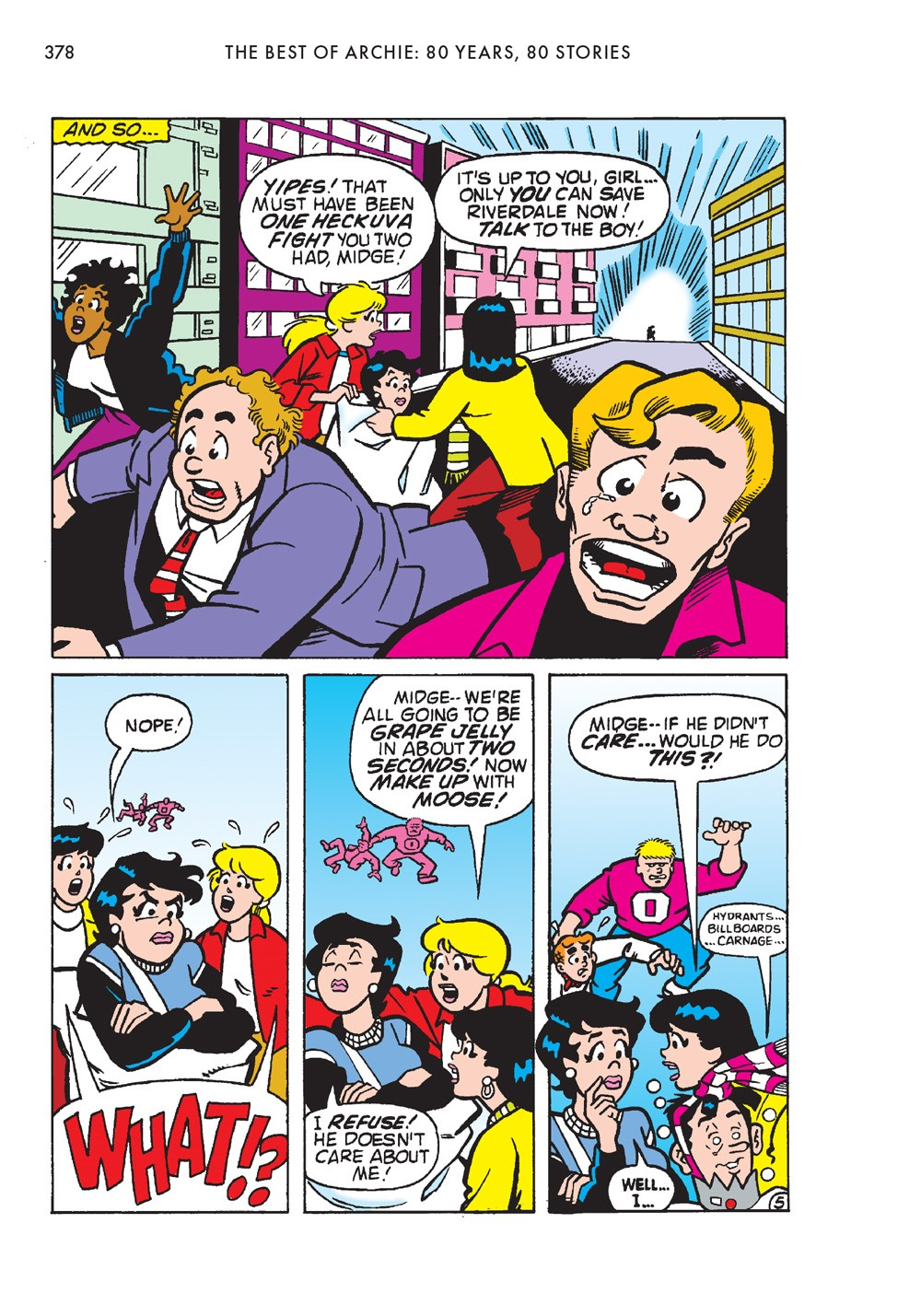 TheBestOfArchieComics_80Years80Stories_380 ComicList Previews: THE BEST OF ARCHIE COMICS EIGHTY YEARS EIGHTY STORIES TP