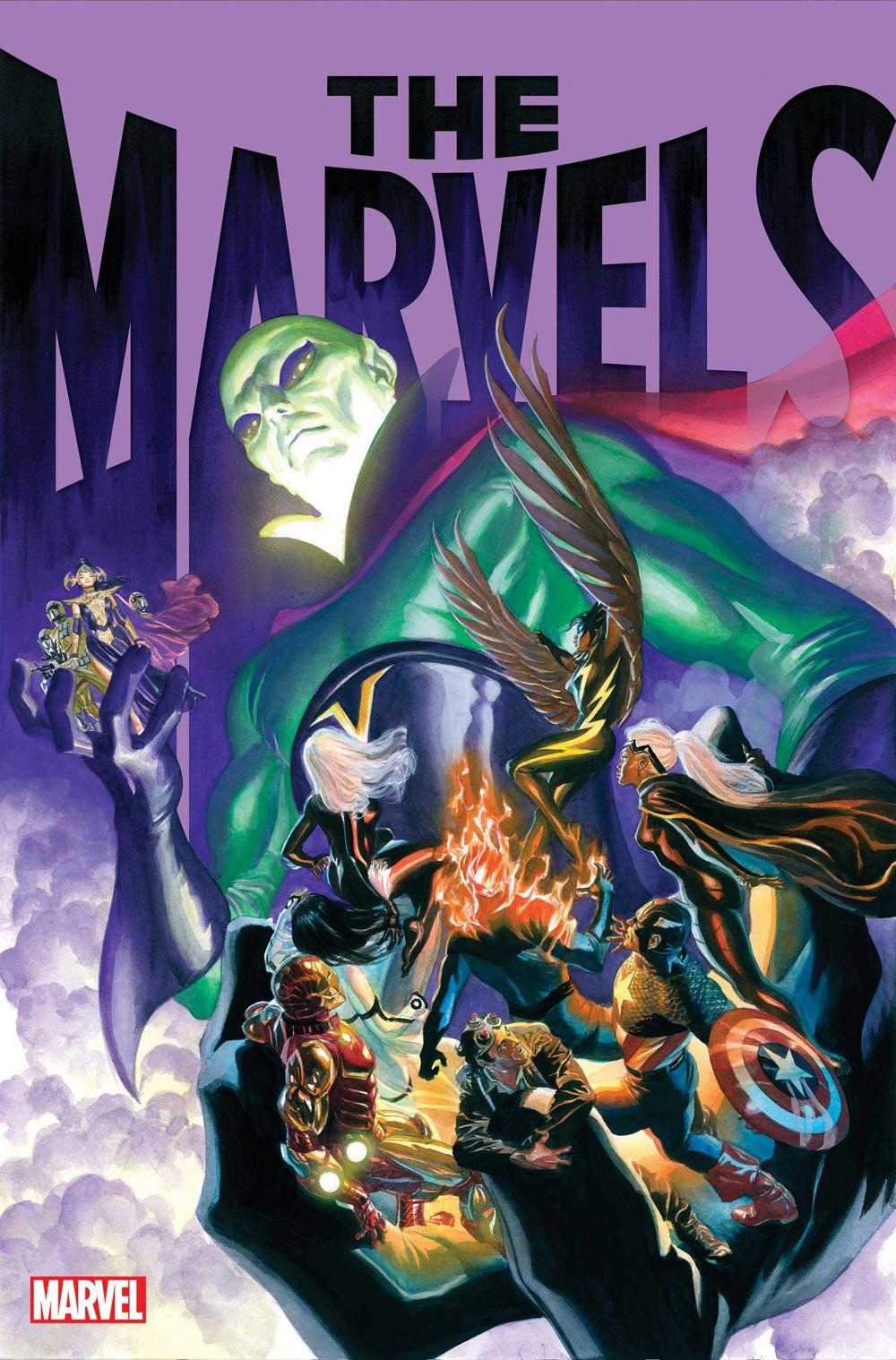TheMarvels07AlexRossLayout Marvel Comics November 2021 Solicitations