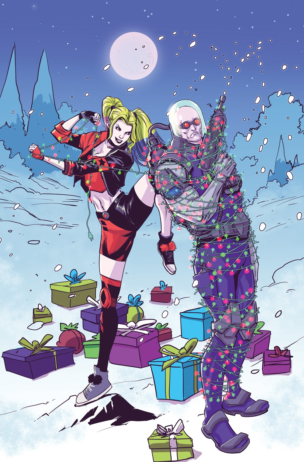Tis_The_Season_Variant DC Comics November 2021 Solicitations