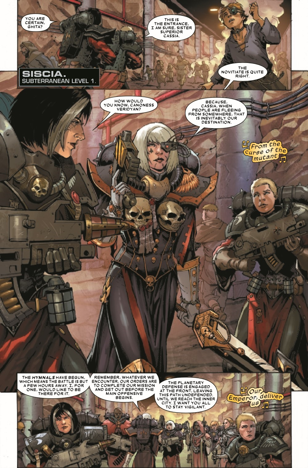 WARHAMMERSOB2021001_Preview-3 ComicList Previews: WARHAMMER 40000 SISTERS OF BATTLE #1 (OF 5)
