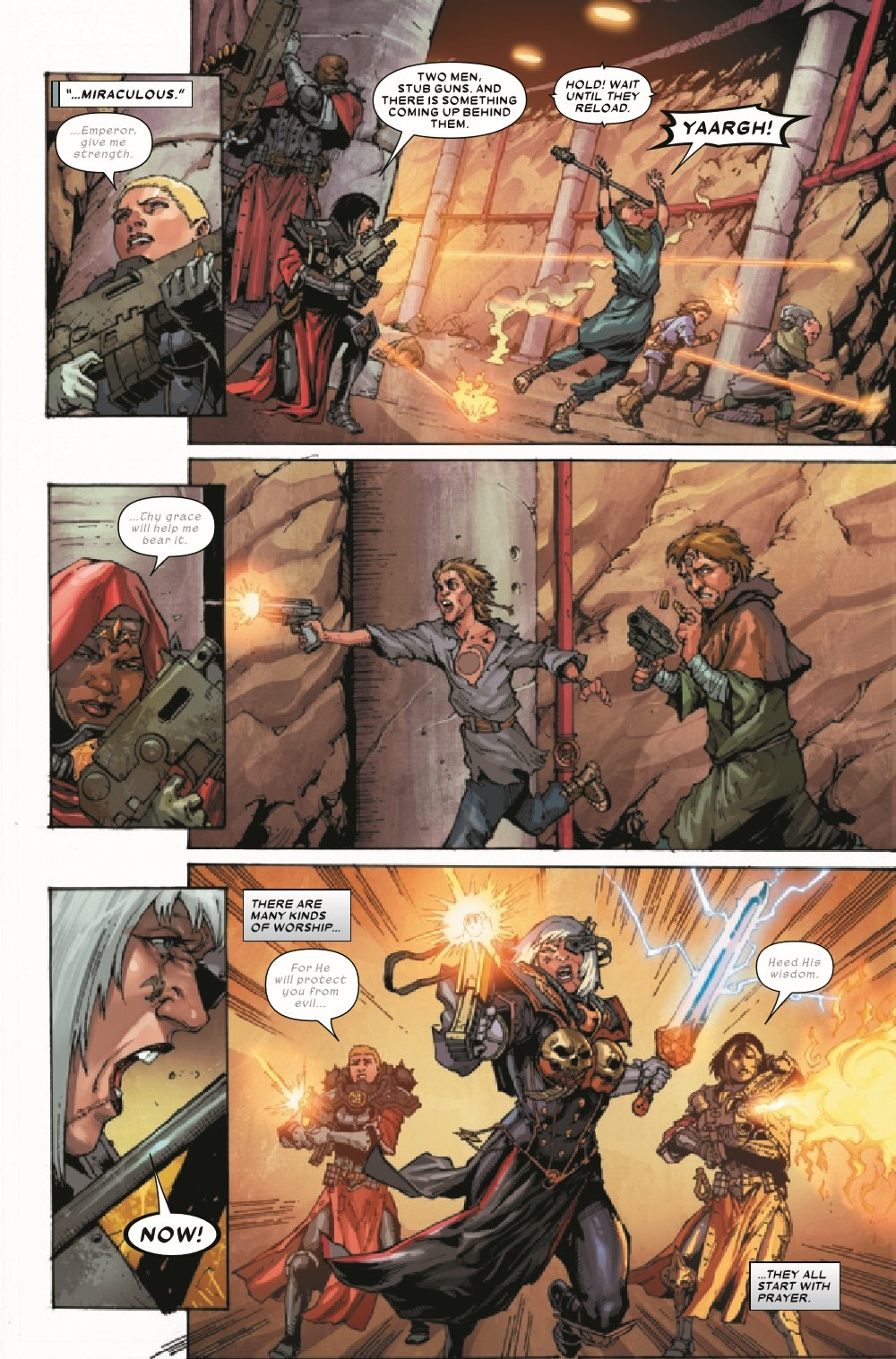 WARHAMMERSOB2021001_Preview-5 ComicList Previews: WARHAMMER 40000 SISTERS OF BATTLE #1 (OF 5)