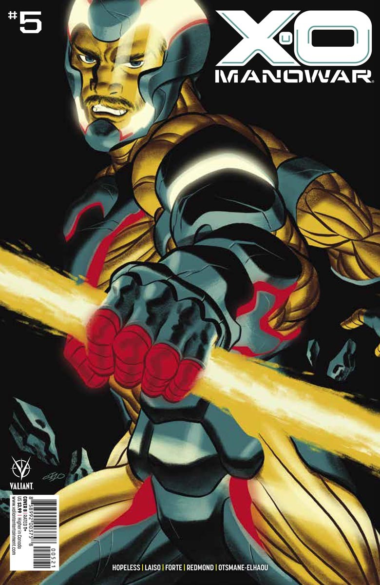 X-O_5_COVER_B ComicList: Valiant Entertainment New Releases for 08/18/2021