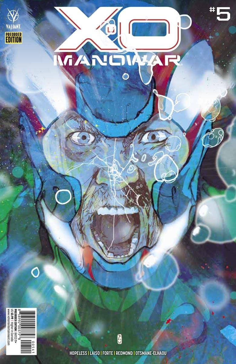 X-O_5_COVER_PREORDER ComicList Previews: X-O MANOWAR #5