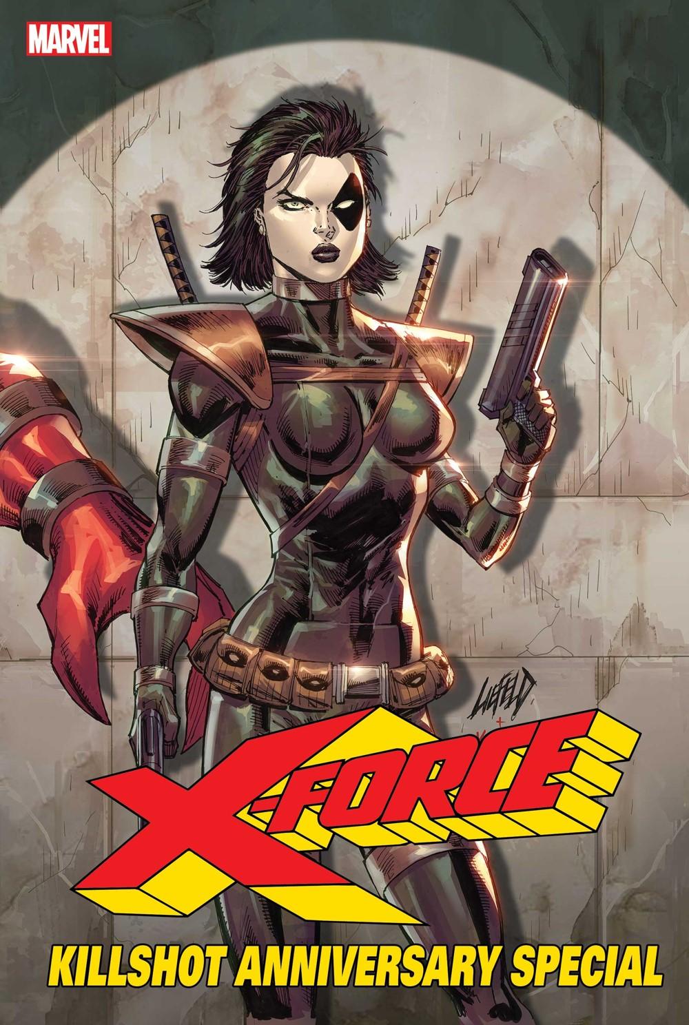 XFORCEKILLS2021001_LIEFELD_CONN_VAR_E Marvel Comics November 2021 Solicitations