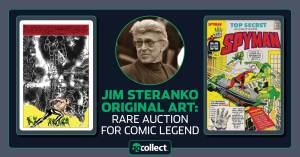 download-80-300x157 Jim Steranko Original Art: Rare Auction for Comic Legend